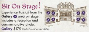 falstaff onstage