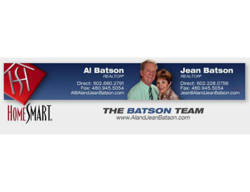 Be HomeSmart: THE BATSON TEAM – from our Viewpoint