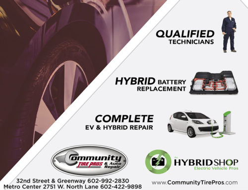 Community Tire Pros & Auto Repair Now Offering Hybrid Services