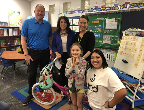 Subway Kids & Sports Surprises Two Students at Desert Cove Elementary