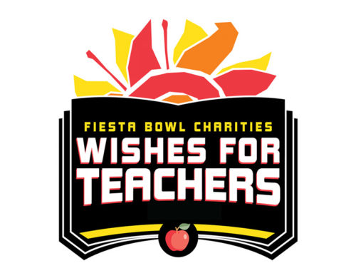 Arizona Teachers Receive $1 Million in Grants  from Fiesta Bowl Charities Wishes for Teachers, Powered by DriveTime
