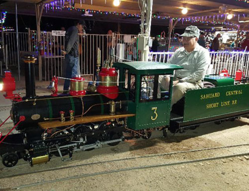 HOLIDAY LIGHTS, TRAIN RIDES AND SNOW ARRIVE IN GLENDALE