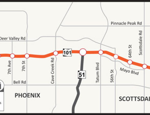 Closure of two Loop 101 ramps at Seventh Ave. Through March Scheduled to reopen in March as part of freeway widening project