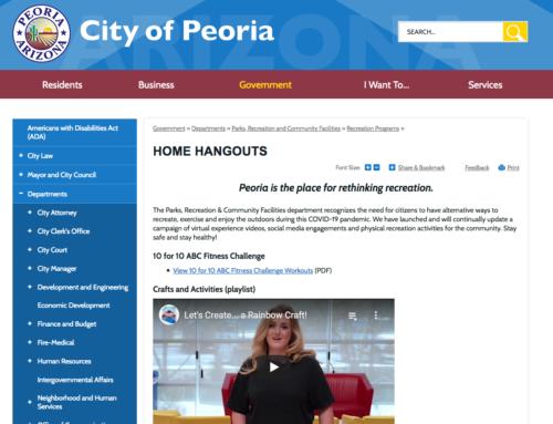 Peoria Rethinks Recreation