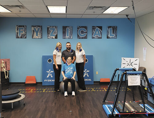 Fight The Fall: FYZICAL Therapy & Balance Center  Helps Keep You On Your Feet