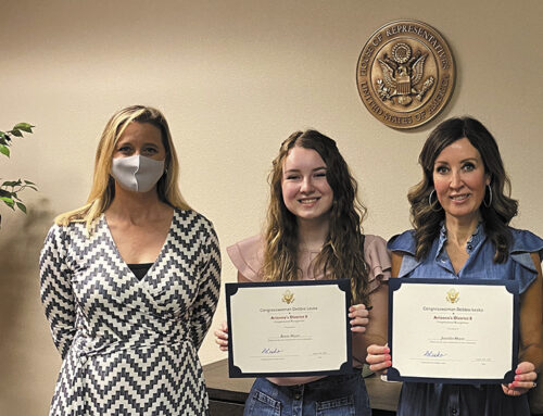 Local Mother and Daughter Receive Congressional Award for Philanthropic Work