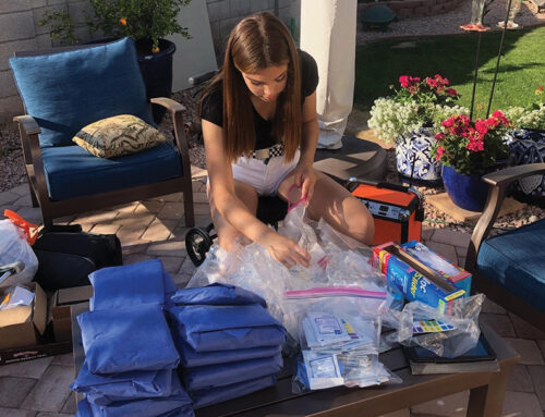 Local Girl Scout Collects Unused Medical Supplies for Underprivileged Communities