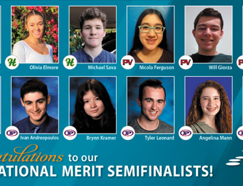 12 PVSchools Seniors Named as 2021 National Merit Semifinalists
