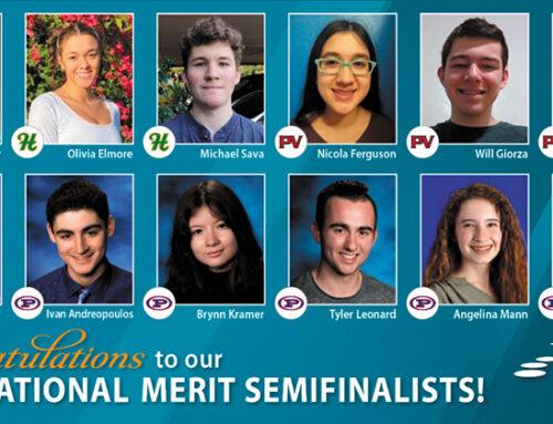 12 PVSchools Seniors Named as 2021 National Merit Semifinalists