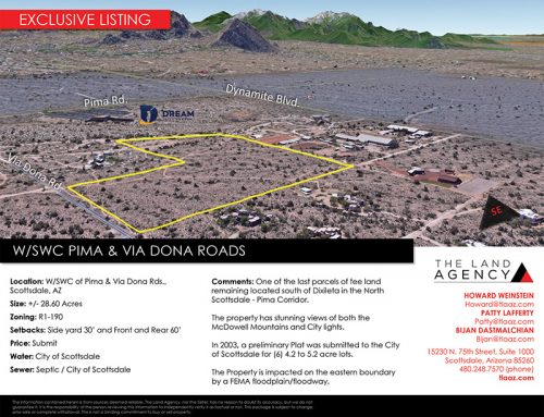 A North Scottsdale Land Parcel Sells for $3.1 Million