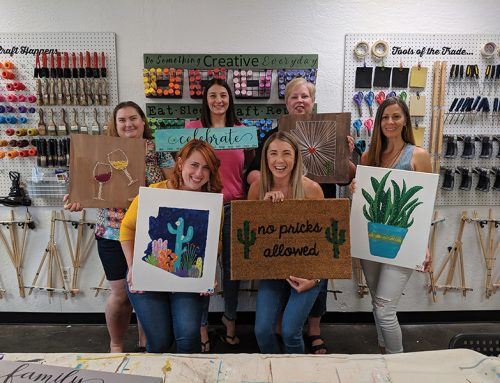 Craft Nights Opens Back Up for Classes and Private Events