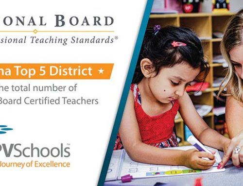 PVSchools in the Top 5 Districts in Arizona for Number of National Board Certified Teachers