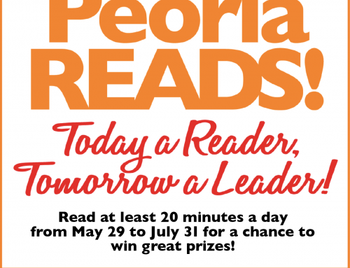 Mayor Carlat Announces Sixth Annual Peoria ReadsThe Mayor's summer reading program encourages youth to read daily
