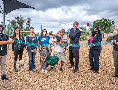 New Playground Debuts in Jackrabbit Park