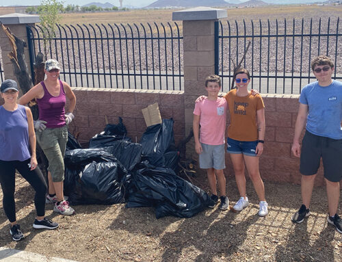 Keeping Our Streets CleanWe take pride in North 32nd by adopting a street!