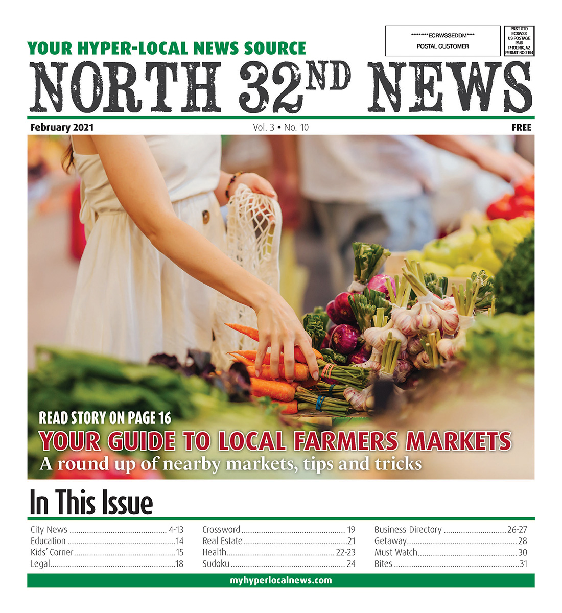 North 32nd News Cover 2021