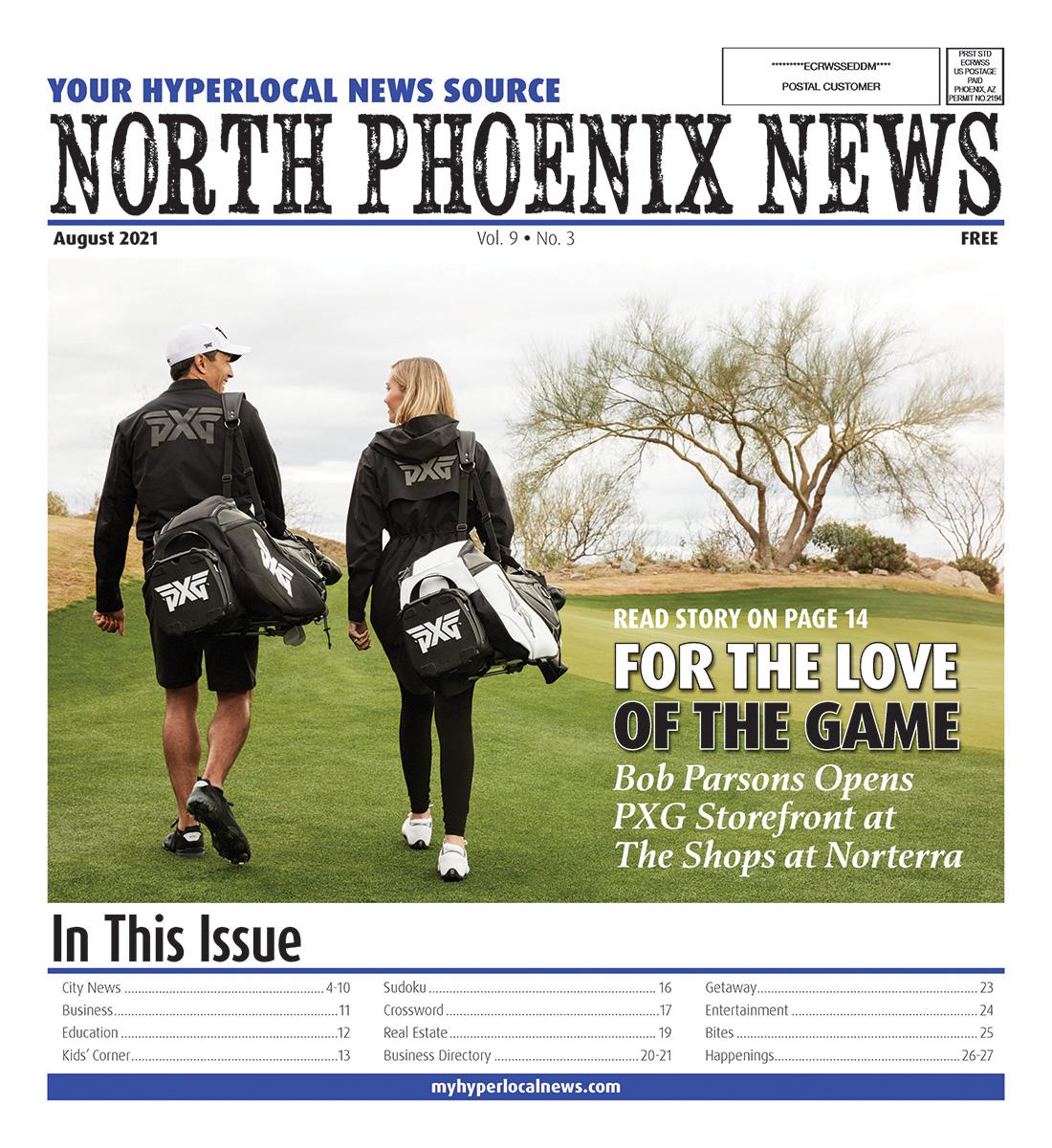 North Phoenix News Cover 2021