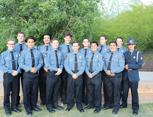The Peoria Police Explorer Program Invites Youth to Learn About Law Enforcement