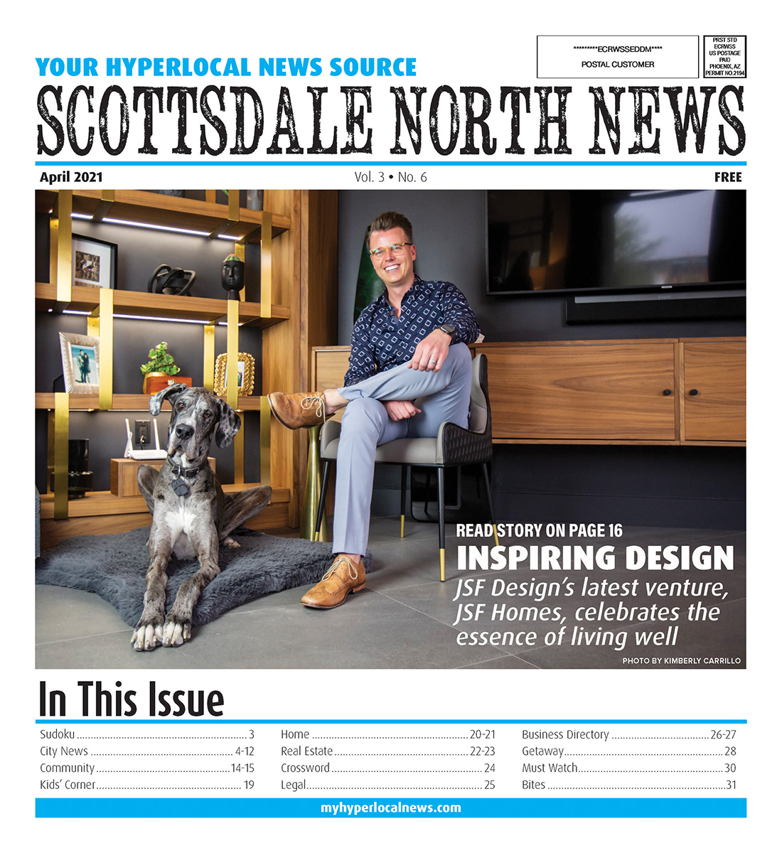 Scottsdale North News Cover 2021
