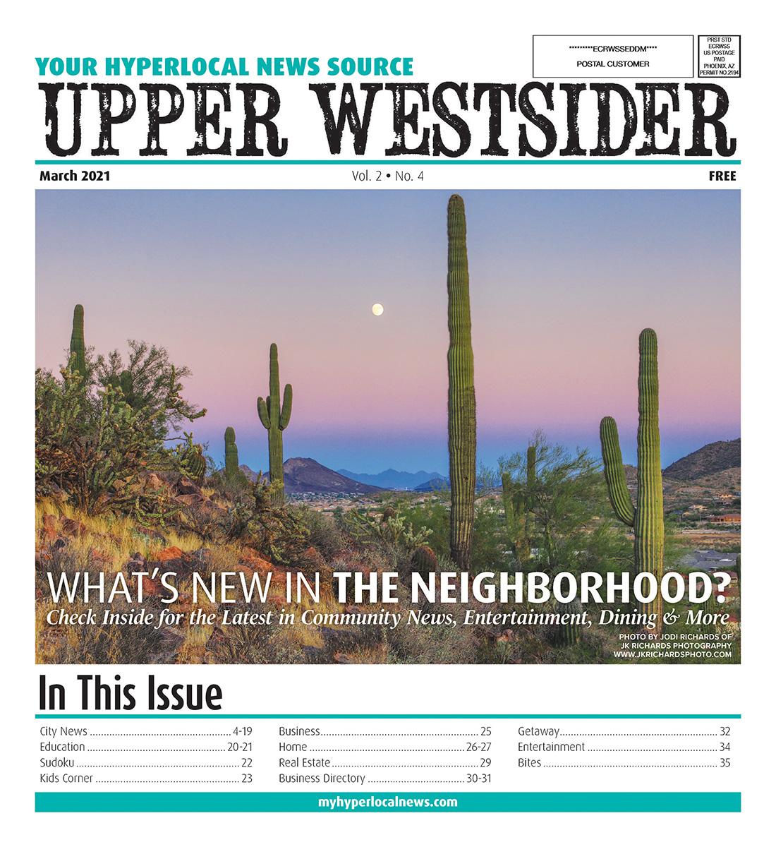 Upper Westsider Cover 2021